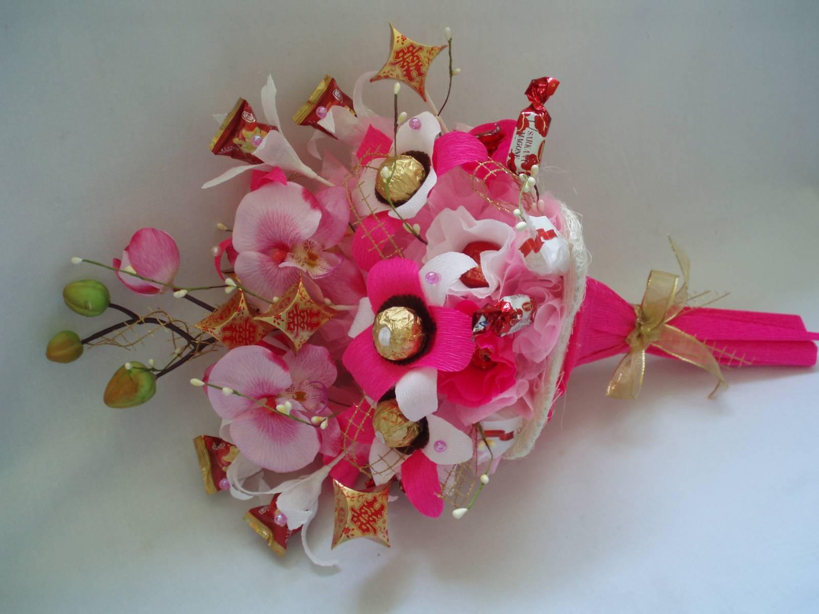 Букет из орхидей: как самостоятельно составить цветочную