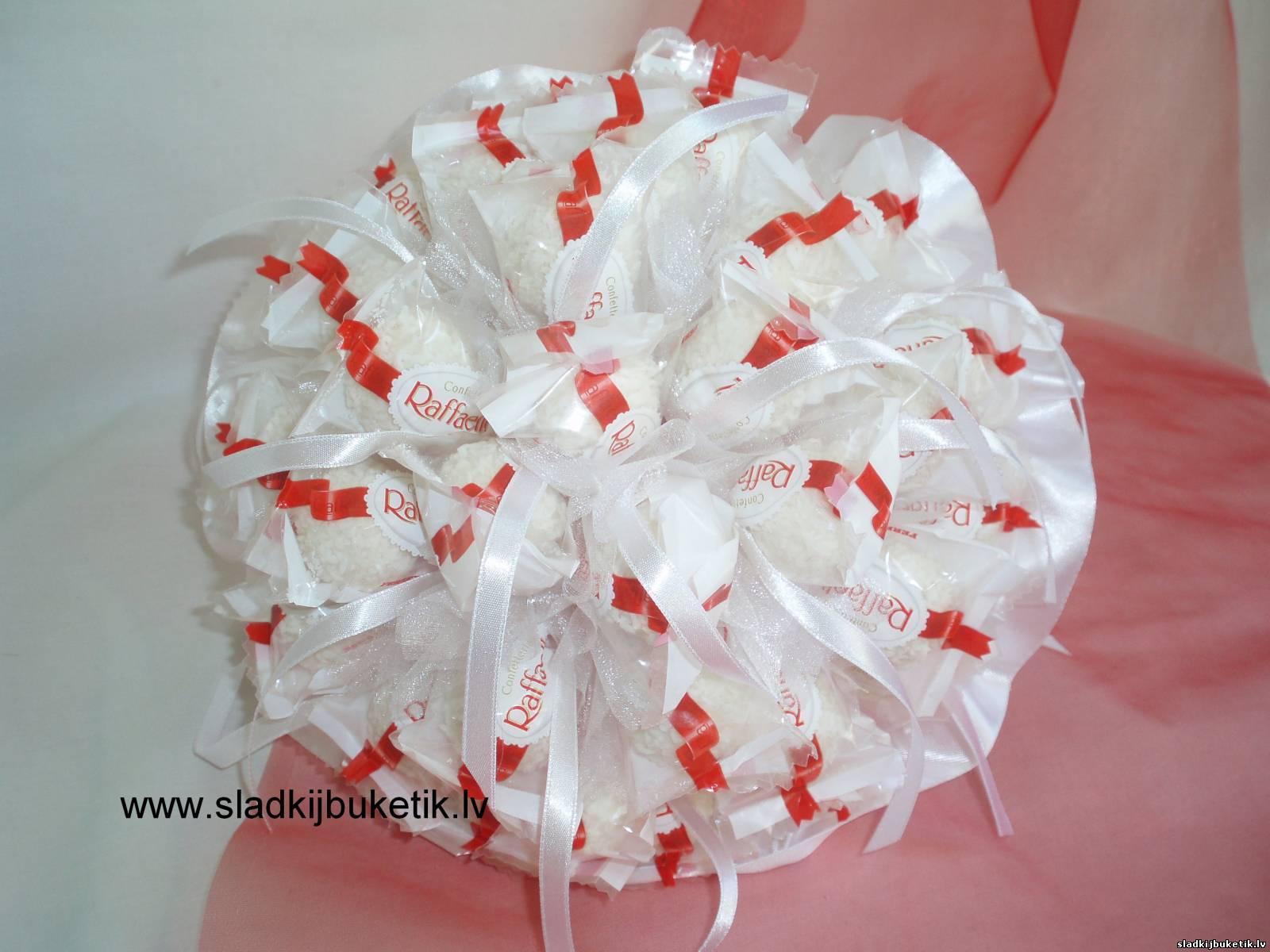 Букет из конфет невесты своими руками 52